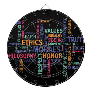 """Business Ethics"" Dartboard"