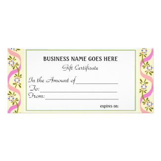 Business Gift Certificate |