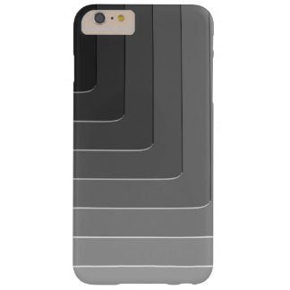 Business gray monochrome barely there iPhone 6 plus case