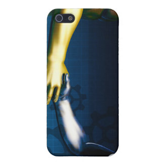 Business Integration Network with Hands Shaking iPhone 5/5S Cases