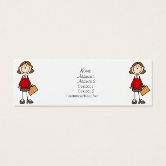 Business Lady Profile Cards