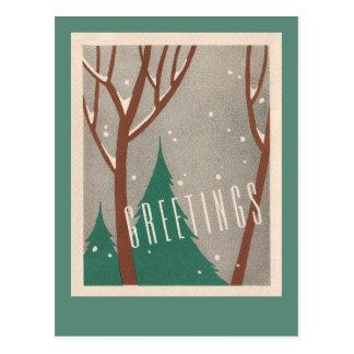 Business landscape, environmental holiday postcard