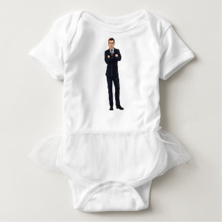 Business Man Baby Bodysuit