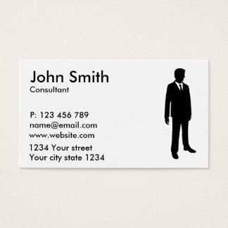 Business man business card
