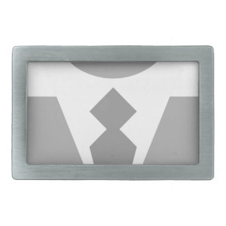 Business Man Rectangular Belt Buckle