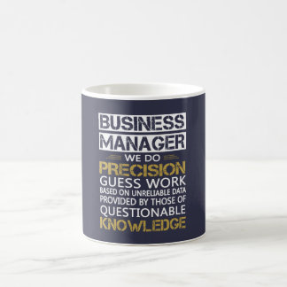 BUSINESS MANAGER COFFEE MUG