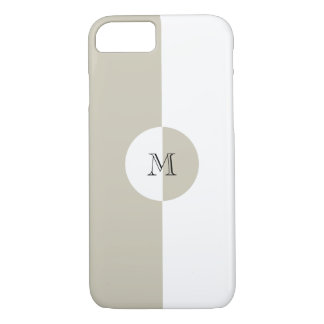Business Modern Monogram iPhone 7 Case