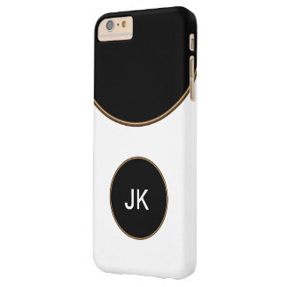 Business Monogram Style Barely There iPhone 6 Plus Case