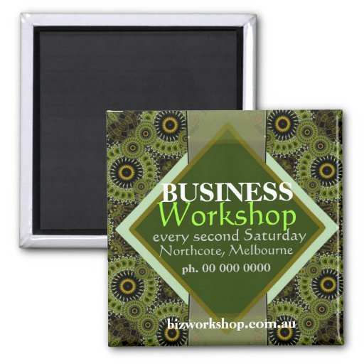 Business Networking Promo Magnet