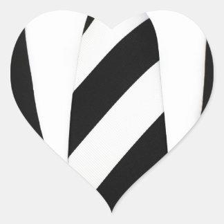 Business Office Men Tie Suit Pattern Stripes Heart Sticker