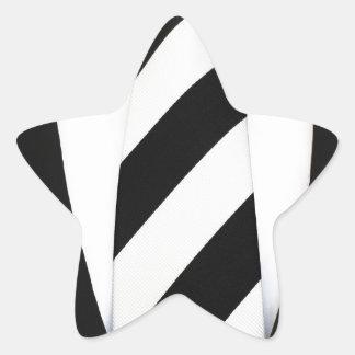 Business Office Men Tie Suit Pattern Stripes Star Sticker