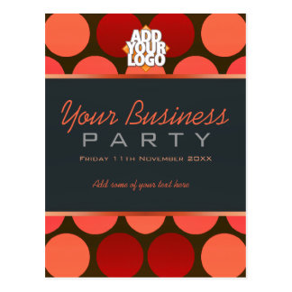 Business Office Workshop Party Invitation template Postcard