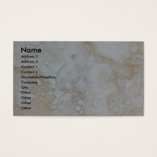 Business on Limestone Business Card