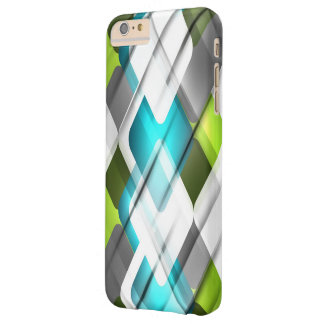 Business Pattern Barely There iPhone 6 Plus Case