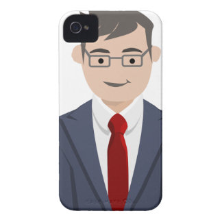 Business People Drawing Case-Mate iPhone 4 Case