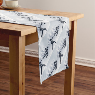Business People Kung Fu Fighting Short Table Runner