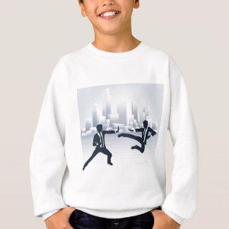 Business People Kung Fu Fighting Sweatshirt