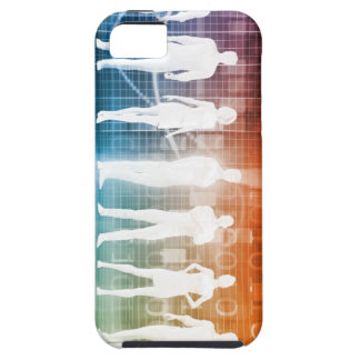 Business People Standing in a Row Confident iPhone 5 Case