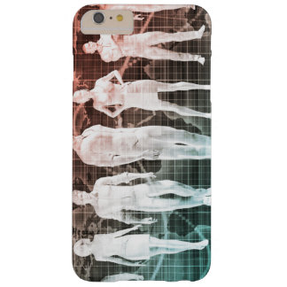 Business People Working Together on an Internation Barely There iPhone 6 Plus Case