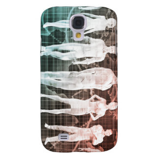 Business People Working Together on an Internation Galaxy S4 Cases
