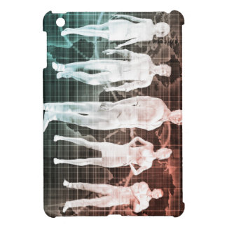 Business People Working Together on an Internation iPad Mini Covers
