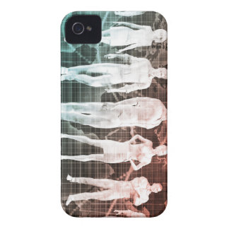 Business People Working Together on an Internation iPhone 4 Case-Mate Cases