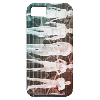 Business People Working Together on an Internation iPhone 5 Cover