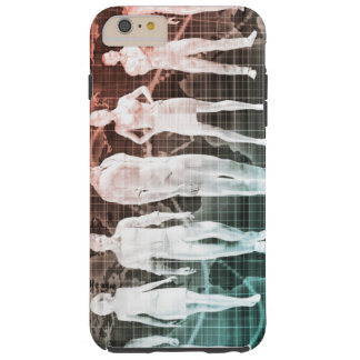 Business People Working Together on an Internation Tough iPhone 6 Plus Case