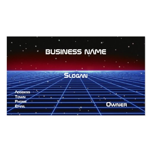 Business-Personal Card Business Cards