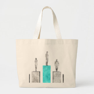 Business Pioneer and Market Industry Leader Large Tote Bag