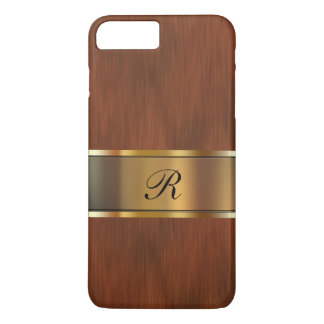 Business Professional Monogram iPhone 8 Plus/7 Plus Case