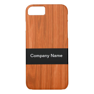 Business Professional Woodgrain iPhone 7 Case