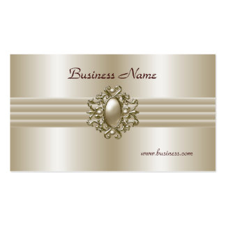 Business Profile Card Elegant Pearl Image Pack Of Standard Business Cards