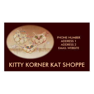 Business - Profile Card - Tabby Road Business Card Template