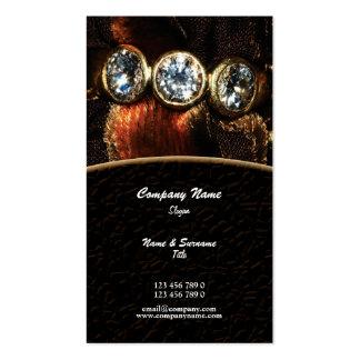 Business profile jeweler jewelery diamond custom business card templates