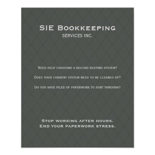 BUSINESS PROMOTIONAL FLYER simply smart grey