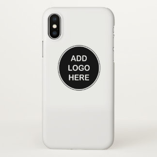 Business Replace The Logo Design iPhone X Case