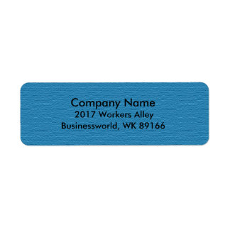 Business Return Address Return Address Label