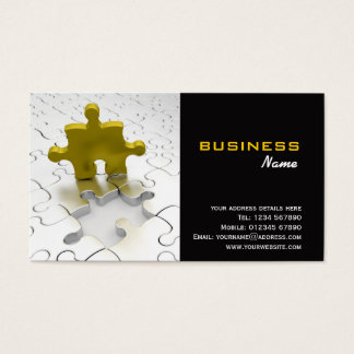Business Solutions Business Card