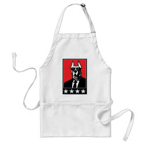 Business Suit Dog Apron