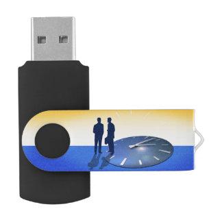 Business Talk Swivel USB 2.0 Flash Drive