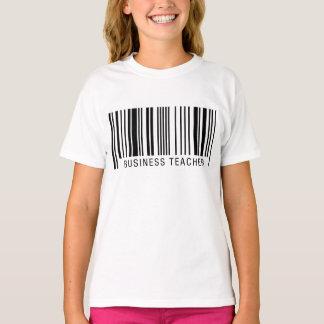 Business Teacher Barcode T-Shirt
