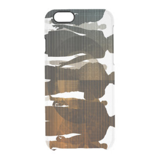 Business Team of Professionals Standing for Career Clear iPhone 6/6S Case