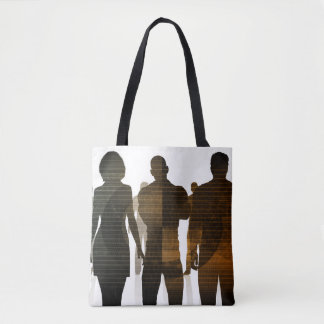 Business Team of Professionals Standing for Career Tote Bag