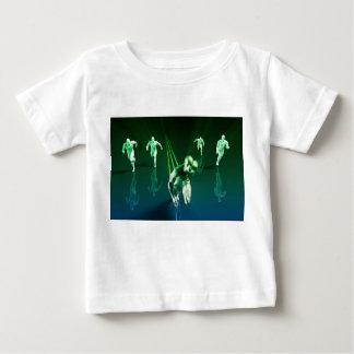 Business Technology Concept on Worldwide Report T-shirt