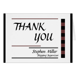 Business Thank You Card