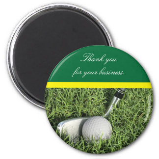 Business Thank You Golf Magnet
