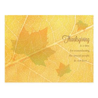 Business Thanksgiving Postcard / for Customer