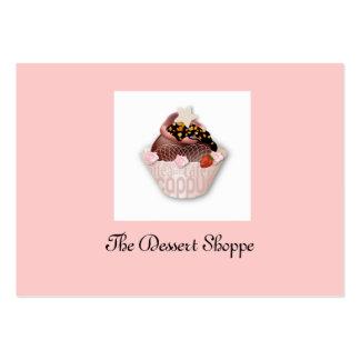 Business ...The Dessert Shop Business Card Templates