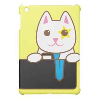 Business time Walnut cat iPad Mini Cases